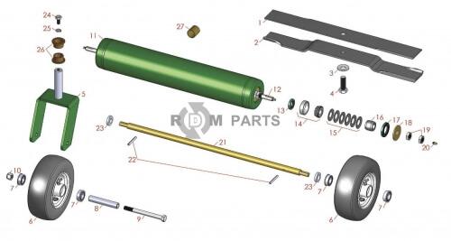 Ransomes AR250 parts - RDM Parts