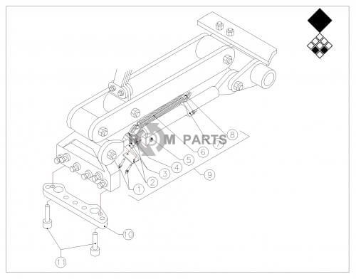 ᐅ • Verti Drain 7526(H) Onderdelen Basismachine onderdelen