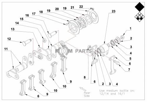Vertidrain 7316Basic machine parts