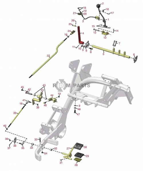 Toro Green / Tee mowers Greensmaster 3100 Basic machine parts