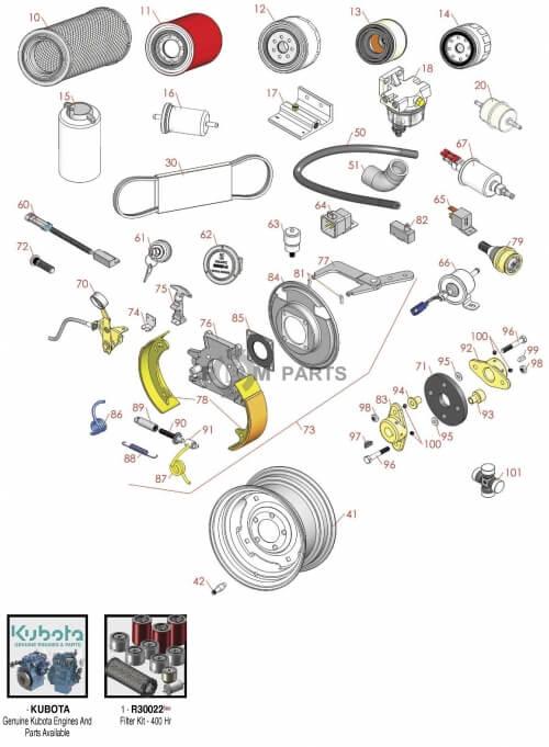 Toro Groundsmaster 328D parts - RDM Parts