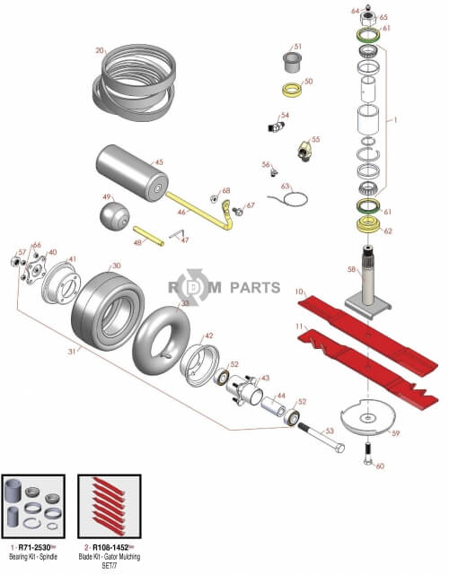 Toro Groundsmaster 455D parts - RDM Parts