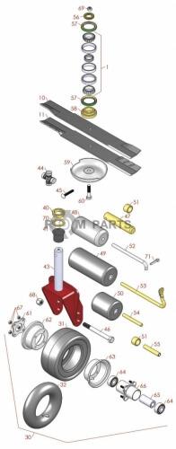 Toro Groundsmaster 3320D parts - RDM Parts
