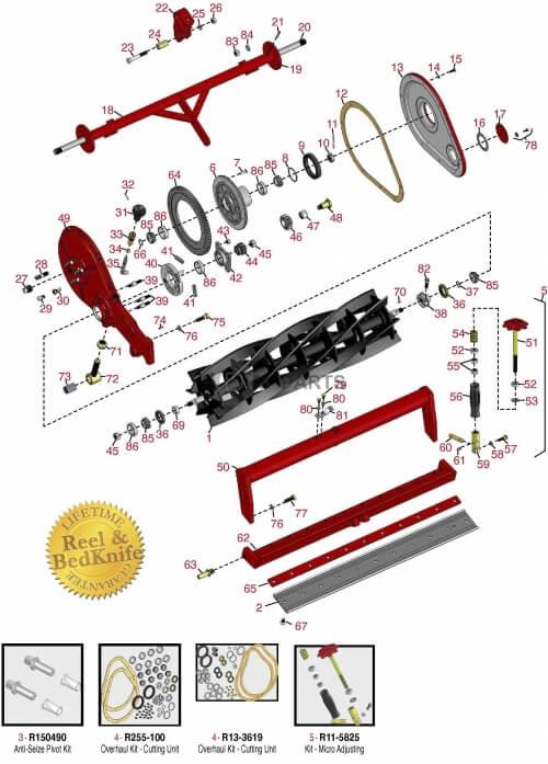 Toro Reelmaster Fairway parts - RDM Parts