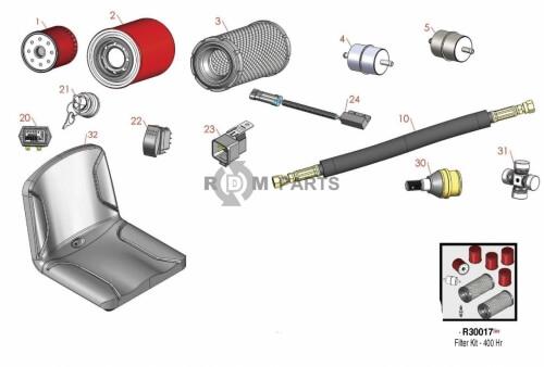 Toro Workman 3200 parts - RDM Parts
