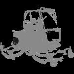Toro Sichelmäher Groundsmaster 4700D hinterachse teile - 624