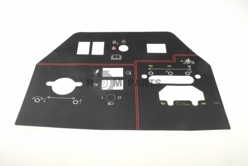 Decal intrument panel - TO107-9529
