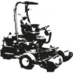 John Deere Greens Mower 2500E - Hybride parts - 268