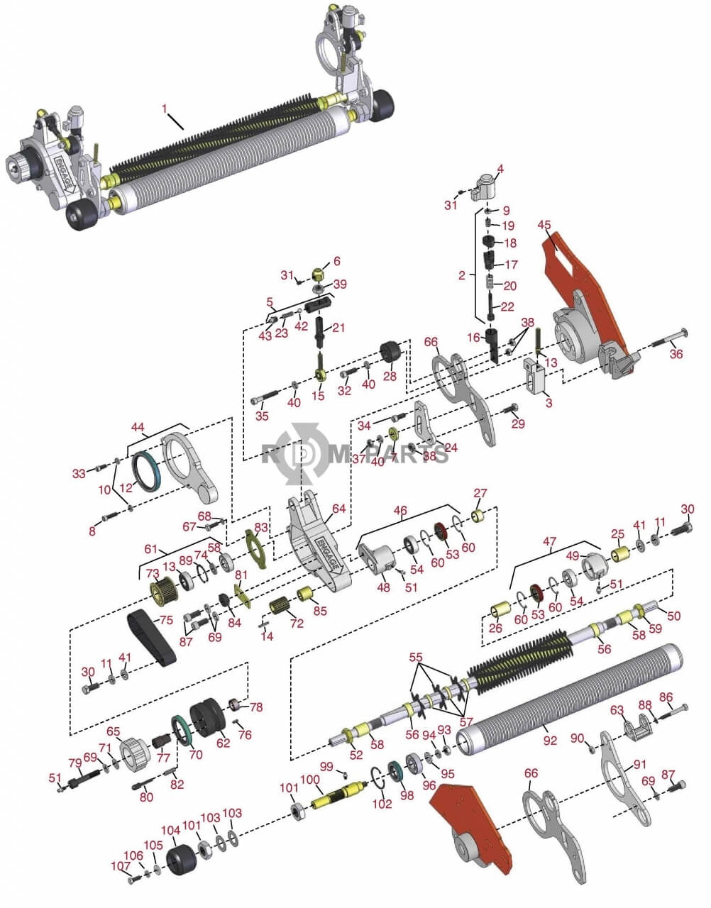 jacobsen truckster wiring diagram diy enthusiasts wiring diagrams \u2022 industrial carts with wheels jacobsen greensking 522 parts rdm parts rh rdmparts com 3 wheel cushman truckster cushman turf truckster