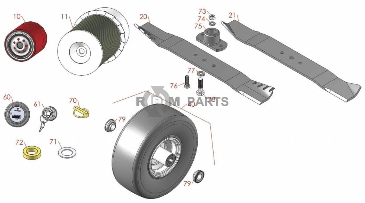 Array - jacobsen hr5111 parts   rdm parts  rh   rdmparts com
