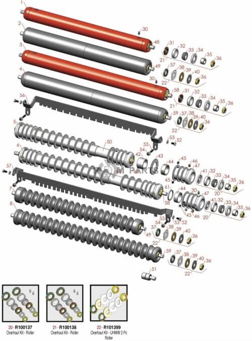 Jacobsen 1900D parts - RDM Parts