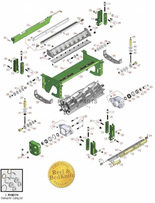 John Deere 7700 parts - RDM Parts