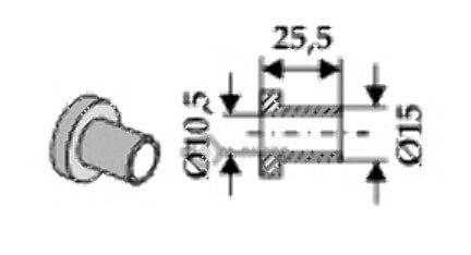 Internal bush fitting for 02 801 01 from Bomford - 808-63-BOM-62