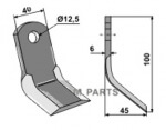 Y-blade fitting for Energreen E00901324500 - 808-63-ENR-02