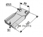 Replace Fräsmesser, links geeignet für 355.92.387 von Humus - 808-63-IND-149-L