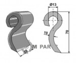 Schlegel geeignet für 945000901 von Ducker - 808-63-IND-378