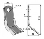 Y-blade fitting for Sauerburger 0.006.00.3845 - 808-63-IND-830