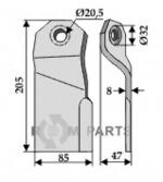 Mover-blade - 808-63-JOS-01