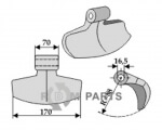 Pruning hammer - 808-63-M-1