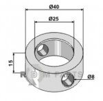 Clamping-ring - 808-63-MUL-84