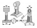 klepel passend voor 7770713 van Spearhead - 808-63-RM-34