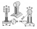 Pruning hammer fitting for 7314366 from Mc Connel - 808-63-RM-48