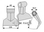 Pruning hammer - 808-63-RM-63