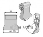 Schlegel geeignet für 945000902 von Ducker - 808-63-RM-98