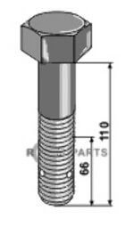 Hexagon bolt - M24x3 - 10.9 - 808-63-SAU-121