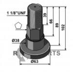 Pin - 808-63-SCH-90
