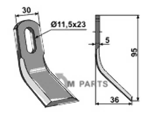 Y-blade - 808-63-ZZZ-06