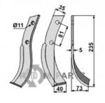 Blade, right model - 808-HON-06R