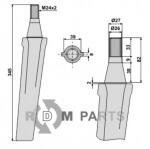 Tine for rotary harrows - 808-RH19