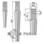 Tine for rotary harrows - 808-RH26