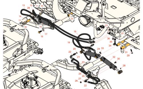 Toro Groundsmaster 4300D parts - RDM Parts on