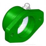 Housing assy - bearing reel - green - R104-3399G