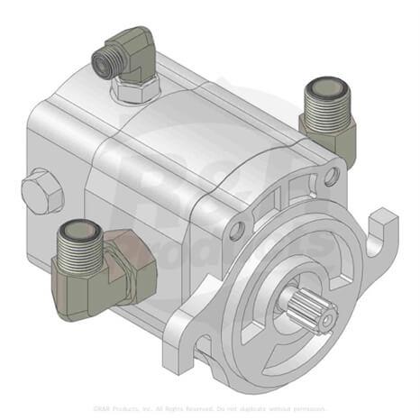 Motor - hyd - reel 98-9999 - R110-1717 ...