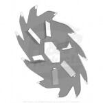 Verticut-Messer mit Windflügel - R150109C