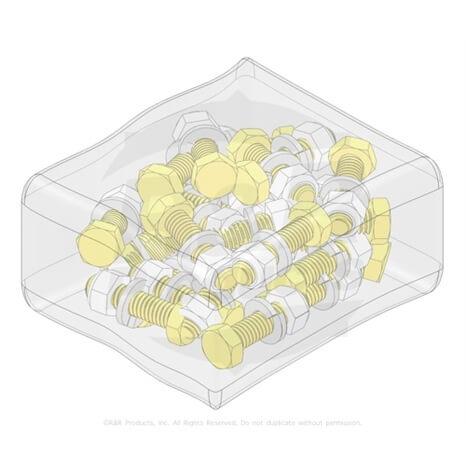 BOLT KIT - 5/16 X 1-1/4 NUT SET/25 - R250407
