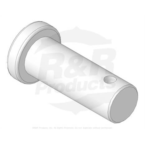 Clevis Pin 12 X 1 2764 R283 8 Teil Rdm Parts