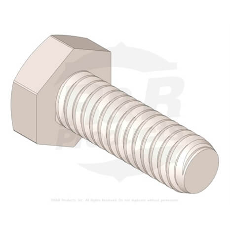 BOLT - HEX HD 1/4-20 X 3/4 - R321-4