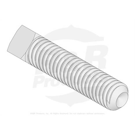 Screw - bed bar adjusting - R3243-13