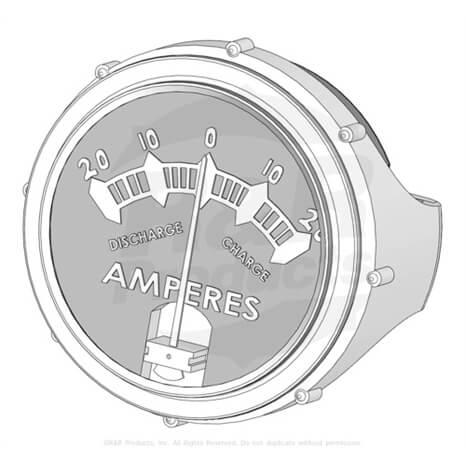 METER - AMP - R33-0990
