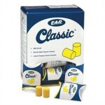 3M E-A-R Classic Earplugs Uncorded in Pillow Pack 30 PR/Box - R3M310-1060