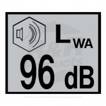 DECAL - 96 DB NOISE - R4117466