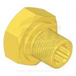 DRIVE NUT - SPLINED 3/4-16 RH - R6040-109