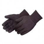 GLOVES - BROWN JERSEY - PKG/12 - R770500