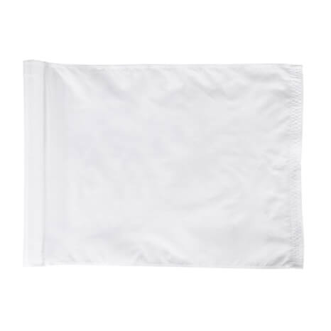 Fahnensatz mit 9 Stück, weiß - R860