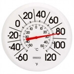 THERMOMETER - INDOOR/OUTDOOR BIG/BOLD 13IN - R90007