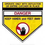 DECAL - DANGER - R93-1122